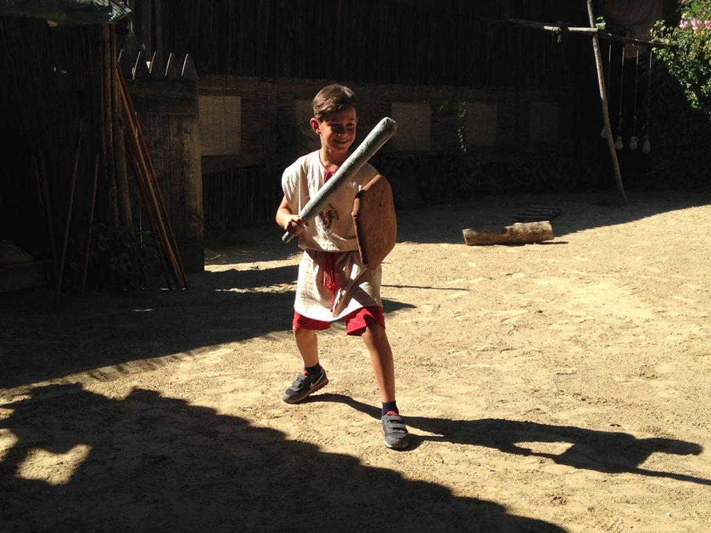 Гладиаторская школа в Риме