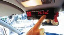 такси и таксометр